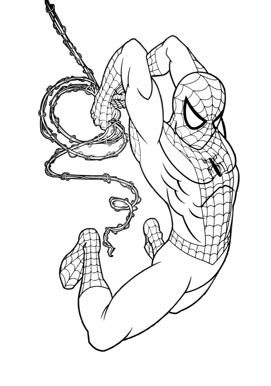 Cute & Easy Printable Spiderman Coloring Pages (2020 ...